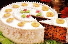 Engleska vjenčana torta - wedding cake
